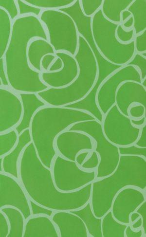 8706 Цветочная фантазия в зеленом